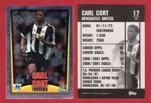 Newcastle United Carl Cort Guyana 17